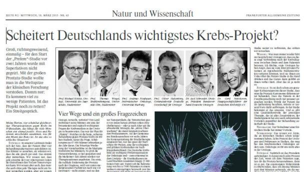 Scheitert Deutschlands Krebsmedizin?