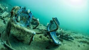Wo sich Plastik herumtreibt