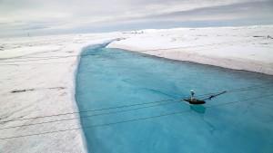 Wohin strömt Grönlands schmelzender Eispanzer?