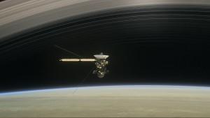Auf Tuchfühlung mit dem Ringplaneten