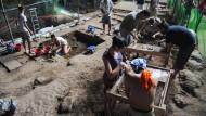 Ausgrabungen in der Callao-Höhle auf Luzon