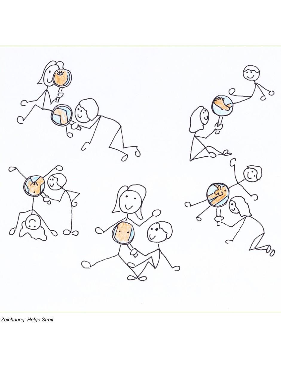 Solche Zeichnungen dienen der Sexualerziehung von Sechs- bis Zwölfjährigen.