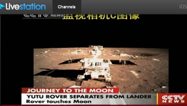 """Rover """"Yutu"""" vom Lander getrennt"""