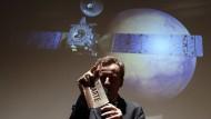 """""""Colonizzare"""" - Roberto Battiston von der ESA ist schon ein paar Mars-Runden weiter."""