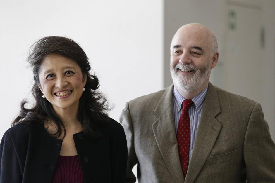 Paul-Ehrlich-Preisträger 2017: Die gebürtige Taiwanesin Yuan Chang und ihr Gatte, Patrick S. Moore vom Krebszentrum der University of Pittsburgh.