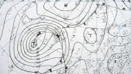 Das wollen wir in Zukunft aber genauer wissen! Hoch- und Tiefdruckgebiete über Nordeuropa