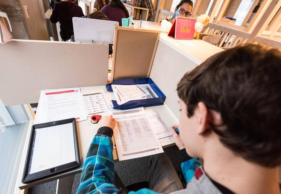 Nach der Digitalisierung verzeichneten Schulen oft  einen starken Zulauf an neuen digital interessierten Schülern.