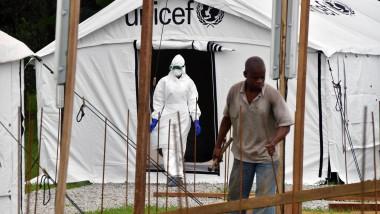 Ebola-Krankenhaus in Yopougon, Elfenbeinküste