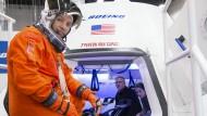 Platz für sieben Astronauten