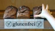 Glutenfrei ist auch ein Lifestyle-Trend: Brot in einem Naturkostladen in Leipzig