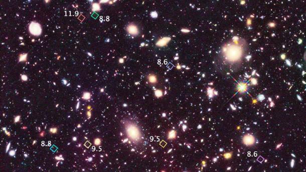 Erste Galaxien des Universums, Hubble: Natur und Wissenschaft, Weltraum