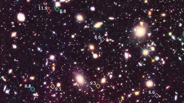 Blick in den frühen Kosmos