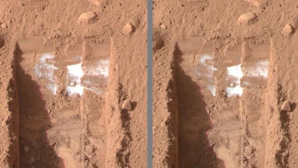 Gutes Wasser auf dem Mars