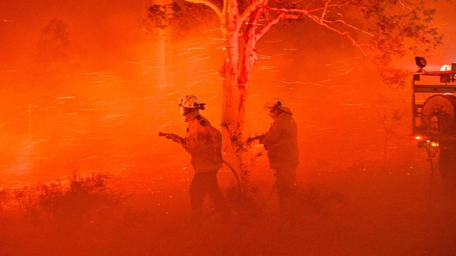 So begann das Jahr: Mit historisch beispiellosen Buschfeuern in Australien. Viele klimabedingte Naturkatastrophen folgten.