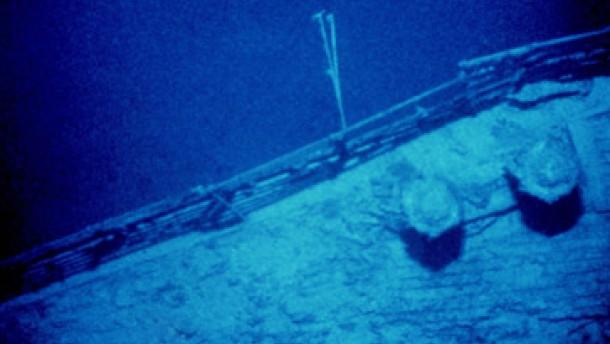 """Die """"Titanic"""" zerfällt überraschend schnell"""