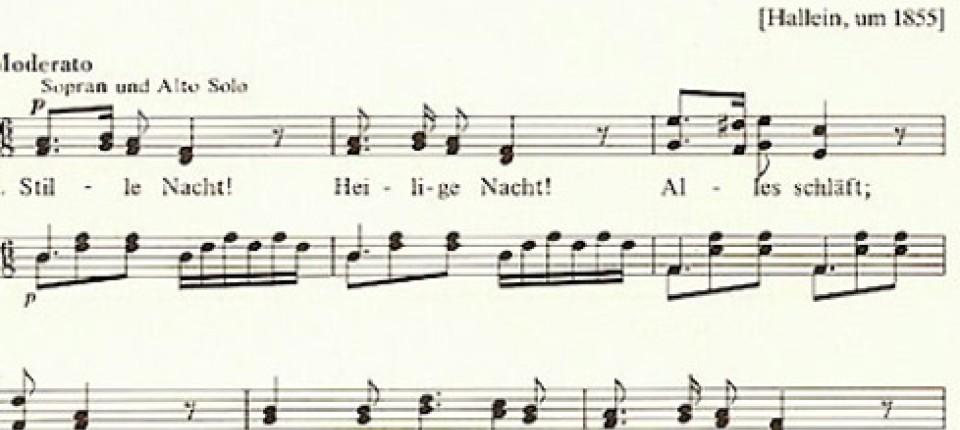 Populäre Weihnachtslieder.Liedforschung Keiner Schläft Alles Singt Leben Gene Faz