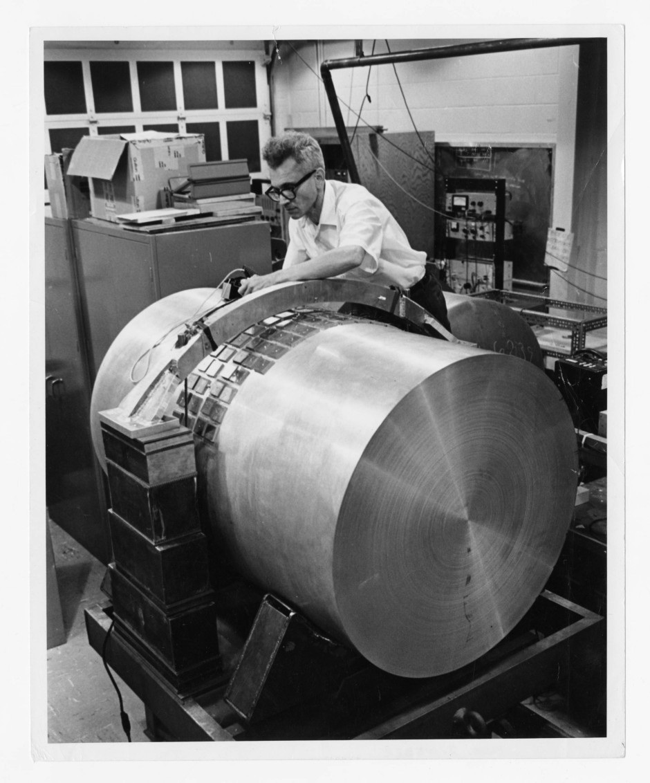 Joseph Weber und sein Gravitationswellen-Detektor