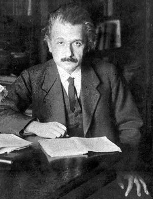 Längst ein berühmter Wissenschaftler: Einstein, 1919 in Berlin