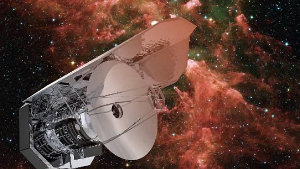 Herschel bringt Sternenhimmel  in Bewegung