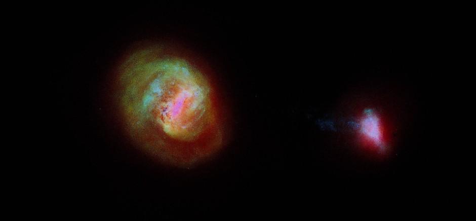 Gaia hat auch die beiden Magellanschen Wolken im Blick.