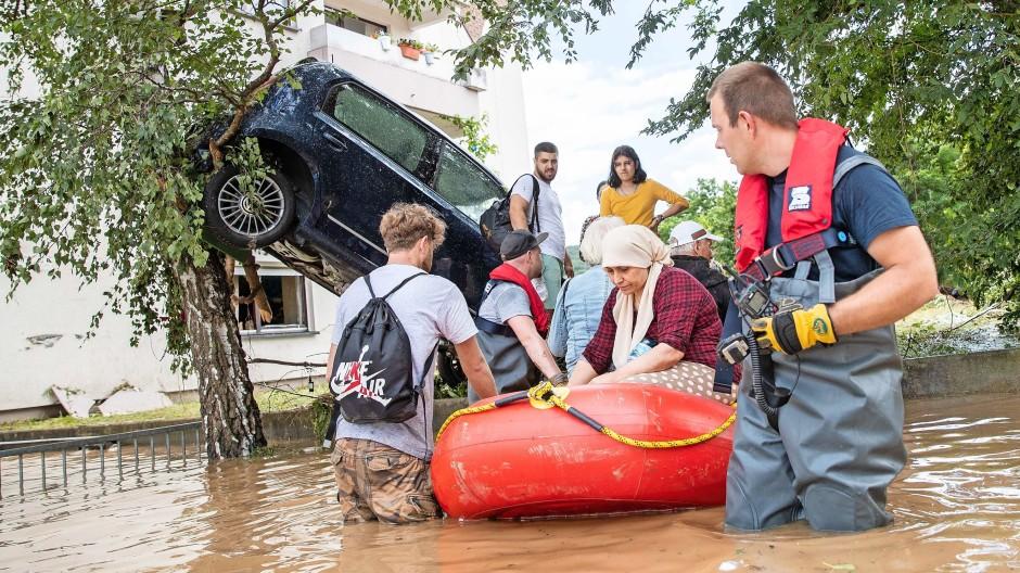 Evakuierung in Bad Neuenahr