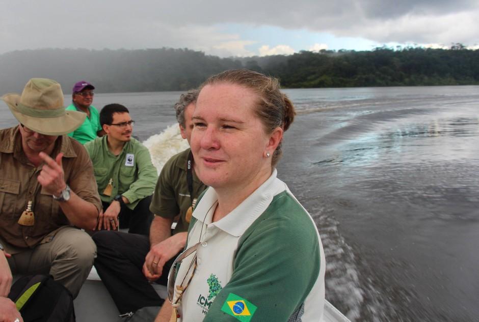 Die Leiterin des Juruena-Nationalparks in Brasilien, Lourdes Iarema.