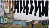 Viel Wäsche, aber auch hohe Verlustquote: Socken waschen ist Sockensuche.