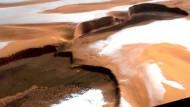 Wassereis am Nordpol des Mars