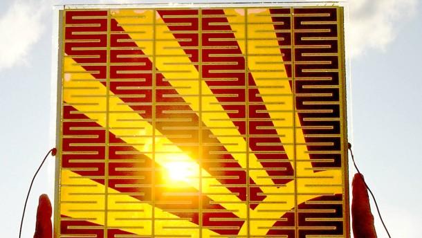 Solarzelle aus Farbstoff vor dem Durchbruch?