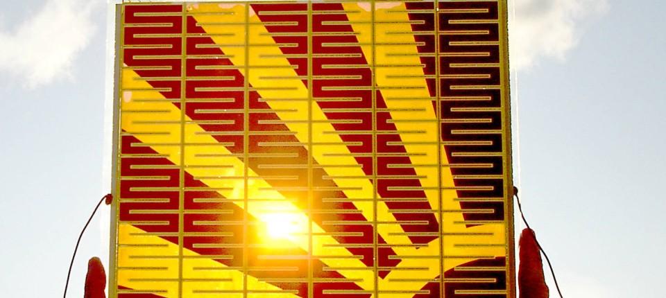 Energie Solarzelle Aus Farbstoff Vor Dem Durchbruch Physik