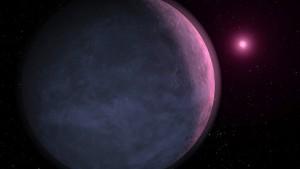 Ein Exoplanet wird geröstet