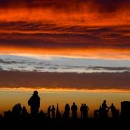 Drohendes Gewölke: Der Himmel über London am Ende des Jahres 2020
