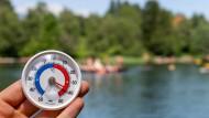 Rekorde auch am Lansersee in Tirol: In Österreich brachte die Saharahitze den wärmsten je gemessenen Juni-Monat.