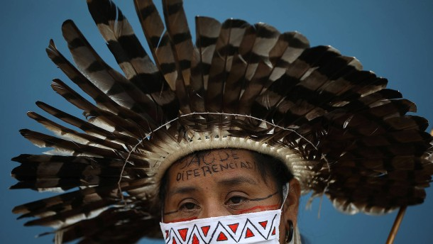 """""""Brazil's Indigenous Peoples have retreated to the most remote corners of their territories"""""""