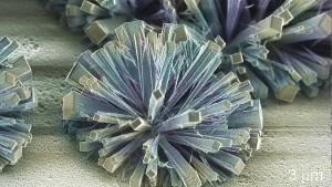 Diamantbüschel sprießen in den Mikrohimmel