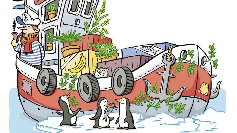 Eingeschleppt: Forscher und Touristen bringen ortsfremde Sporen und Samen mit auf die antarktische Halbinsel.