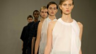 Einzigartige Gesichter: Models bei der London Fashion Week