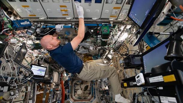 Experimente auf der ISS liefern erste Ergebnisse