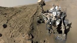 Wieder Methan auf dem Mars
