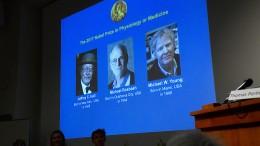 Nichts ist ungerechter als ein Nobelpreis