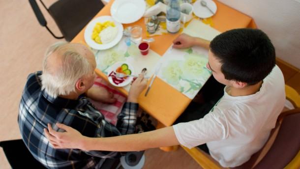 Pflegeheime stellen sich auf Weihnachtszeit ein