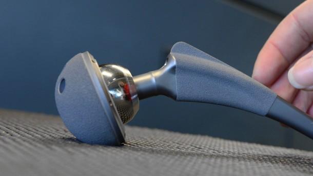 Luftiges Polymer für Implantate