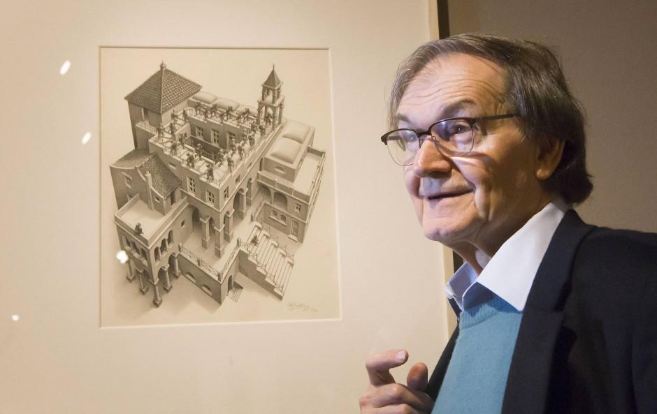 Roger Penrose, Theoretiker und Mathematiker an der University of Oxford.