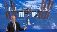 Thomas Reiter verbrachte 2006 als Esa-Astronaut mehrere Monate auf der Internationalen Raumstation ISS.