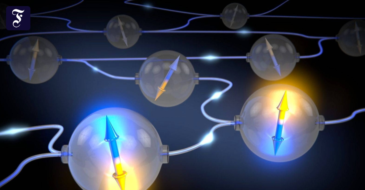 Verteilte Quantenbits lernen das Rechnen - FAZ - Frankfurter Allgemeine Zeitung