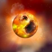 Roter Riese mit Makel: Der Stern Alpha Orionis alias Betelgeuse könnte von gigantischen Sonnenflecken bedeckt sein,