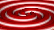 Numerische Simulationen visualisieren dreidimensional, wie zwei Schwarze Löcher verschmelzen - unter Abstrahlung von Gravitationswellen.