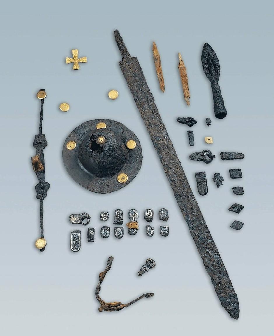 Rüstet euch zum letzten Kampf, tapfere Nordmänner! - Funde aus Grab 53 im Langobardengräberfeld in Collegno bei Turin