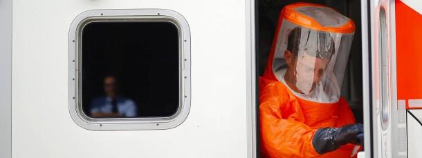 Die Universitätsklinik in Frankfurt hat sich vorbereitet auf ankommende Ebola-Verdachtsfälle.