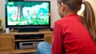 Große Fernsehgeräte als Gefahr